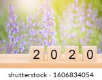 Happy New Year 2020 Text On...