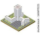 arquitectura,edificio,ciudad,construcción,medio ambiente,jardín,icono,aislado,isométrica,hito,mapa,médicos,moderno,perspectiva,carretera