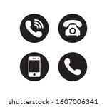 phone icon vector. smartphone... | Shutterstock .eps vector #1607006341