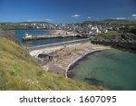 peel bay in the isle of man | Shutterstock . vector #1607095
