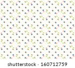floral background  pattern | Shutterstock . vector #160712759