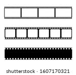 film strips collection. vector...   Shutterstock .eps vector #1607170321
