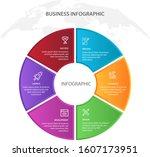 process chart. abstract...   Shutterstock .eps vector #1607173951