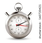 stopwatch   clock and time... | Shutterstock .eps vector #160720421