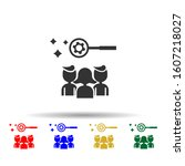 online marketing  team multi...