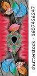 Colorful Kaftan Design For...