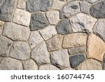 Rock Wall Pattern For Background