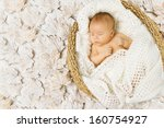 Baby Newborn Sleeping In Art...