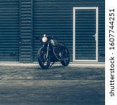Vintage Motorcycle Parking Near ...