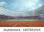 3 D Athletics Stadium. Render 3 ...