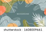 creative hard paint cover... | Shutterstock .eps vector #1608009661