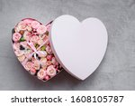 Heart Shape Gift Box And...