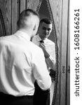 morning groom. fees groom in... | Shutterstock . vector #1608166261