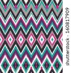 seamless aztec print vector... | Shutterstock .eps vector #160817909