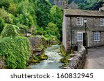 River And Cottage In Castleton...
