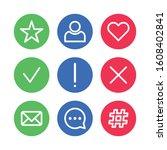 social media icon pack design...