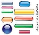 web buttons | Shutterstock .eps vector #16084186