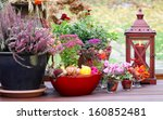 Autumnal Decorated Terrace