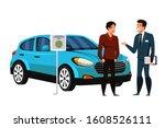 dealer manager consulting car...   Shutterstock .eps vector #1608526111