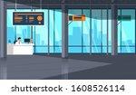 empty car showroom with...   Shutterstock .eps vector #1608526114