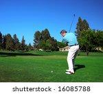 active senior golfer | Shutterstock . vector #16085788