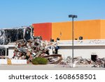 Partially Demolished Commercia...