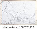 white marble vector background. ... | Shutterstock .eps vector #1608701197
