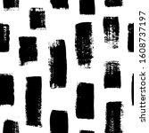 grunge vertical bold... | Shutterstock .eps vector #1608737197