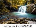 Waterfall At Phu Soi Dao...