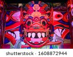 chinese dragon shining with... | Shutterstock . vector #1608872944