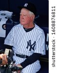Small photo of BRONX, NY - JUN 26: Former New York Yankees pitcher Whitey Ford during The New York Yankees 65th Old Timers Day game on June 26, 2011 at Yankee Stadium.