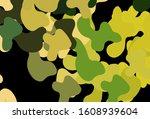 dark green  yellow vector... | Shutterstock .eps vector #1608939604