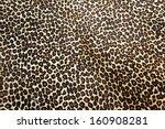 wild leopard hide pattern... | Shutterstock . vector #160908281