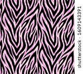 seamless pattern with wild ...   Shutterstock .eps vector #1609143391