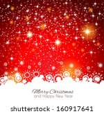 2014 christmas colorful... | Shutterstock . vector #160917641