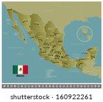 mexico | Shutterstock .eps vector #160922261