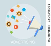 vector illustration of... | Shutterstock .eps vector #1609245091