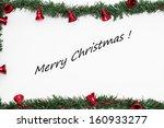 merry christmas  | Shutterstock . vector #160933277