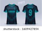 t shirt sport design template ...   Shutterstock .eps vector #1609427854