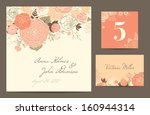 set backgrounds to celebrate... | Shutterstock .eps vector #160944314