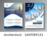 flyer template layout  cover...   Shutterstock .eps vector #1609589131