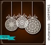 vintage background with... | Shutterstock .eps vector #160959911