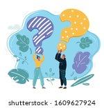 cartoon vector illustration of... | Shutterstock .eps vector #1609627924