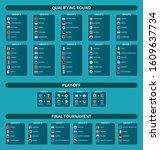 european soccer championship...   Shutterstock .eps vector #1609637734