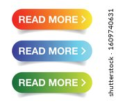 read more call to action button | Shutterstock .eps vector #1609740631