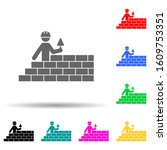 construction  bricks worker...