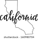 California State Free Vector Art