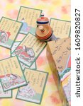 kagawa  japan   jan 08  2020  ... | Shutterstock . vector #1609820827
