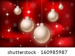 christmas and new year... | Shutterstock . vector #160985987