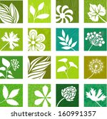 natural icons   Shutterstock .eps vector #160991357